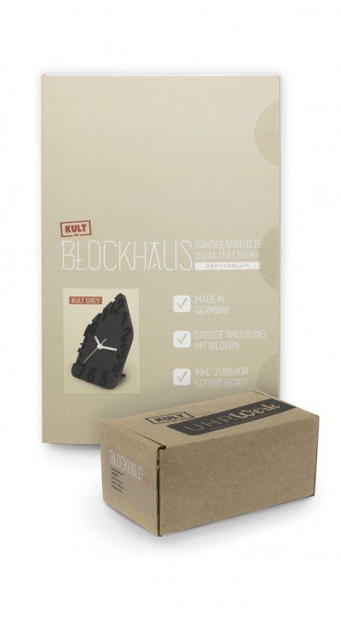 Blockhaus Kult Grey
